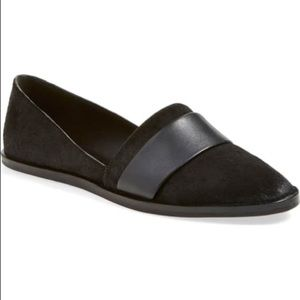 Vince Mason Calf Hair Flat Loafer